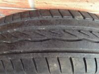 Dunlop part worn tyre EXCELLENT CONDITION