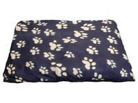 New - Cushion Dog Bed 90 x 70cm (4 Designs)