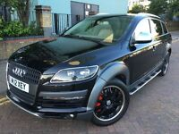 Audi Q7 S line 2007 With Private plate looks 2012, Navigation, Bluetooth, Leather seats, HPI clear.