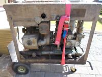 WW2 Bofors Gun Scott Saltaire Generating Set - Stationary Engine and Generator