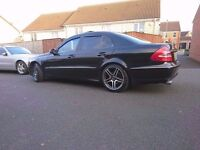 Mercedes, E320 Avantgarde, fully loaded