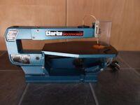 "Clarke Woodworker 400mm (16"") Scroll Saw - 110v"
