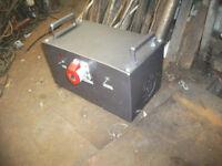 3 phase rotary converter 2HP