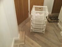 Storage Frame Metal With Four Baskets IKEA new