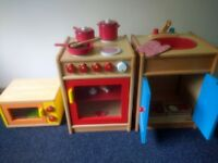 Wooden Kitchen set for Role Play