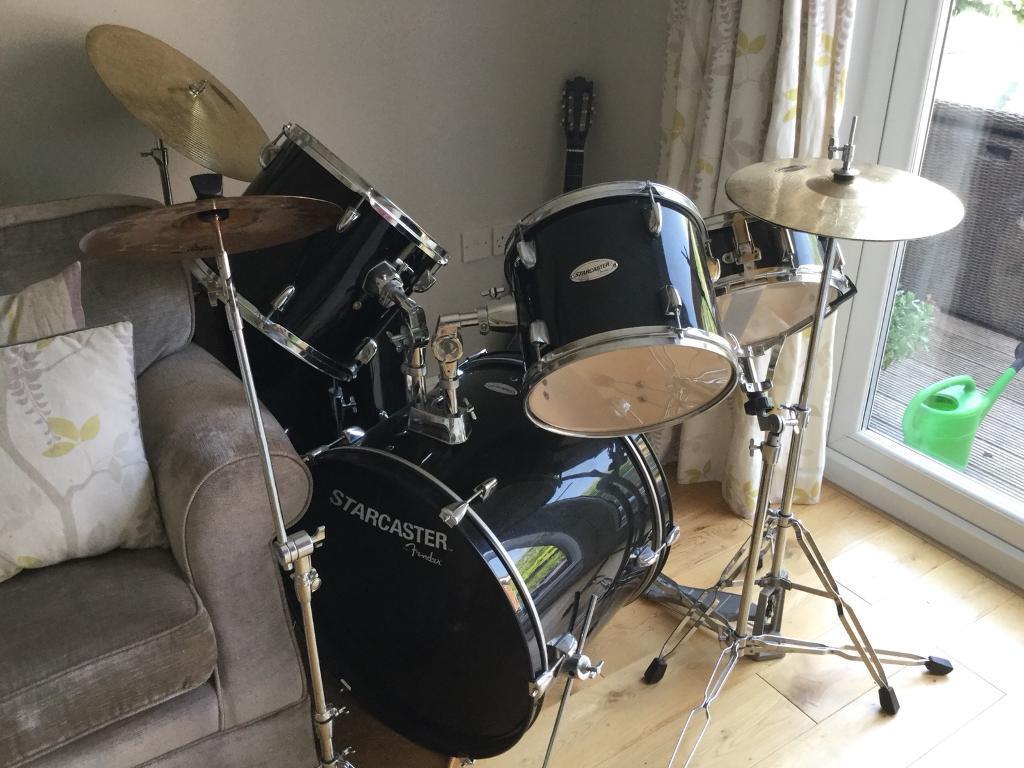 Drum Kit Starcaster By Fender In Ipswich Suffolk Gumtree
