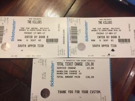 Killers tickets