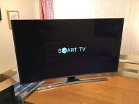 48in Curved 4K UHD 3D Smart LED TV -1400hz- Freeview HD & Freesat HD -WIFI
