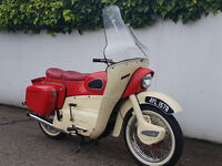 1964 ARIEL LEADER 250 CC MOTED 28/6/2018 GOOD CONDITION