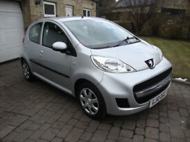 Peugeot 107 1.0 Urban 5 Door, Low Mileage Only 44k, Ideal first car, £20 Year road tax