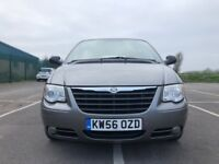 Chrysler Grand Voyager 2.8 CRD LX 5dr£2,995 p/x 7 seater rear seats fold away 2007, MPV 84,000 miles