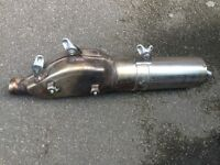ktm LC4 silencer supermoto exhaust in mint condition