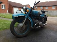 Dnepr MT9 kossack ural 1972 - spares or repair