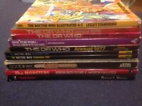Doctor Who books for sale