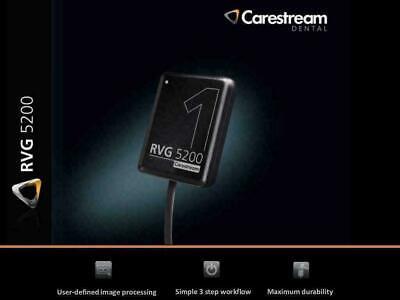 Rvg 5200 Carestream Kodak Digital X-ray Sensor For Dental X-ray Size 1
