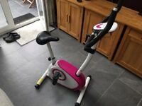 Davina McCall Magnetic Exercise Bike Cycle in good working condition
