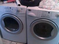 Front load washer, dryer