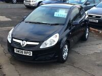 STUNNING//08 VAUXHALL CORSA BREEZE///FULL YEAR MOT BARGAIN