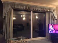 Beautiful high quality curtains and pelmets