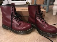 Doc Marten Oxblood Boots NEW size 4