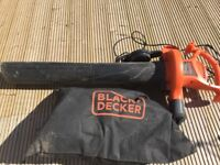 Black and decker vacuum/blower hardly used collection only
