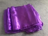 Table runners purple x 12 wedding