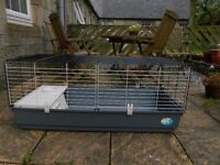 Extra-Large Indoor Cage for Rabbits or Guinea Pigs