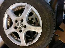 Vw golf alloys 15""