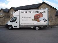 Darren's Removals Huddersfield man & van local or long distance removals