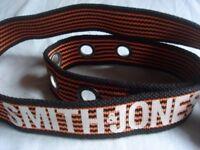 STILL AVAILABLE 33INCH - 36INCH Smith & Jones belt fabric