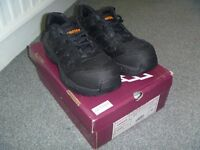 Ladies Black Safety Trainers NEW