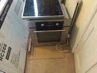 Matching hotpoint oven and hob