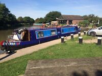 48 Foot narrow boat ( cruiser) for sale