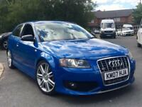 2007 AUDI S3 2.0 TFSI QUATTRO 380BHP FORGED ENGINE 4WD TOP SPEC MINT CONDITION HPI CLEAR GTD GTI DSG