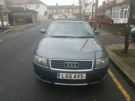 Audi a4 2.5 diesel convertible auto for sale