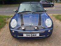 2004 Convertible MINI ONE 1.6,Manual,Petrol, Alloy Wheels,Rear Parking Sensors