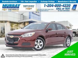 2016 Chevrolet Malibu LT *Leather Heated Seats, Rear View Camera