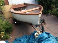 12foot dinghy boat and trailer project