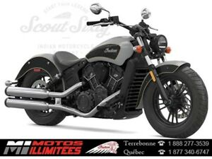 2017 Indian Motorcycles Scout Sixty ABS Garantie demarre en Avri