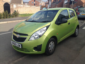 Chevrolet Spark + Plus 2010 Petrol 1.0 Manual Green Like New Clean Low Mileage Low Tax Cheap
