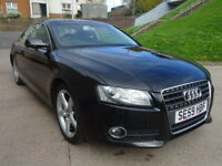 AUDI A5 2.0 TDI 2d 168 BHP 1 PREVIOUS KEEPER + SERVICE RECORD ++TIMING BELT CHANGED++
