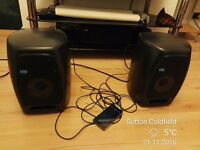 Pair KRK VXT6 Active Studio Monitors with Protective Grills & original packages