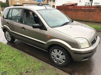 Ford Fusion 3 Semi-Auto 1388cc Petrol Automatic 5 door hatchback 03 Plate 27/06/2003 Silver