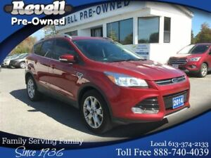 2014 Ford Escape Titanium 4WD  *1-owner  ONLY 42k