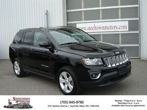 2016 Jeep Compass 4x4 High Altitude|H/Leather|Sunroof|P/Seat