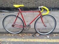xxx Vintage Reynolds 531 Singlespeed/Fixie bike