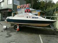 Boat fishing cabin cruiser speed boat