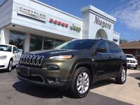 2015 Jeep Cherokee LIMITED,LEATHER,HEATED SEATS,