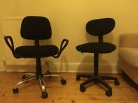 GONE PENDING COLLECTION: Office desk chairs free collection only