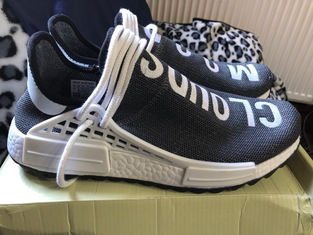 more photos 6dc15 024dc Adidas X Pharell Williams Human Race Mood Clouds 'OREO' NMD - SIZE UK 9,  RRP:- £200 | in Blackburn, Lancashire | Gumtree